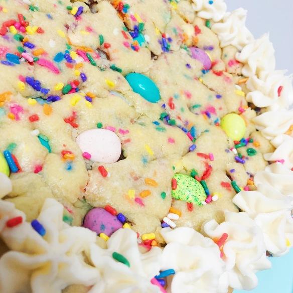 Easter Egg Cookie Cake Myra Bakes